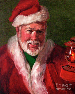 Painting - The Christmas Spirit by Blair Updike