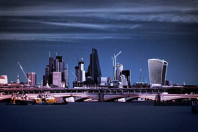 Photograph - The City Of London by Helga Novelli