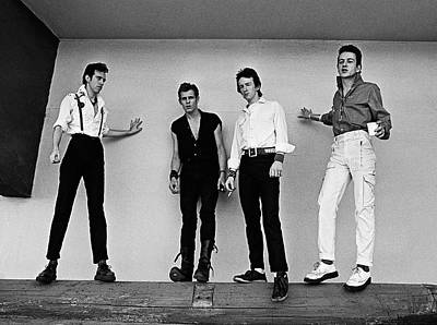 Photograph - The Clash Portrait Session by George Rose