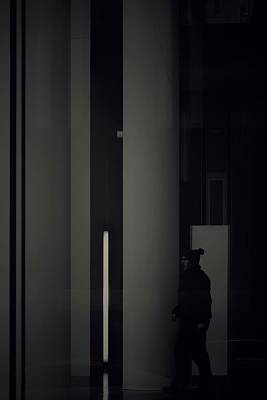 Photograph - The Cleaner On His Way by Michael Nguyen