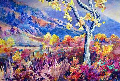 Painting - The Clifton Ranch by Bonny Roberts