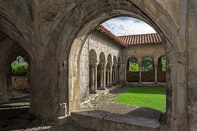 Photograph - The Cloister by Arterra Picture Library