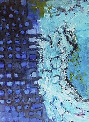 Painting - the Coast by Evy Olsen Halvorsen