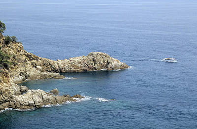 Photograph - The Coast Near Tossa De Mar by P. Eoche