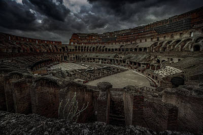 Farmhouse Royalty Free Images - The Coliseum Interior Royalty-Free Image by Chris Lord