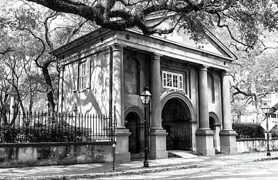 Photograph - The College Of Charleston by John Rizzuto
