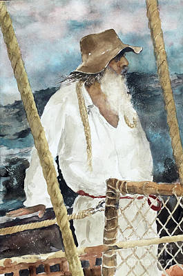 Painting - The Colonist by Monte Toon