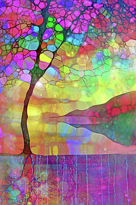 Digital Art - The Colours She Wears On The Inside by Tara Turner