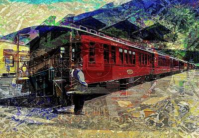 Digital Art - The Conductor by David Manlove