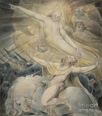 Painting - The Conversion Of Saul by William Blake