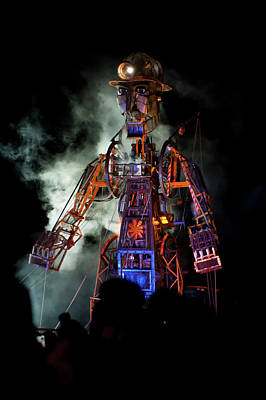 Photograph - The Cornish Man Engine II by Helen Northcott