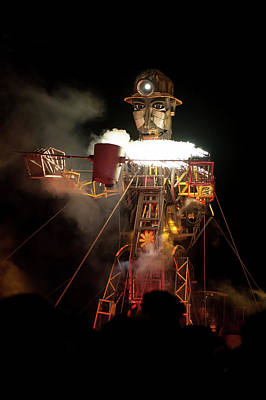 Photograph - The Cornish Man Engine IIi by Helen Northcott