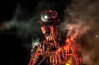 Photograph - The Cornish Man Engine Vii by Helen Northcott