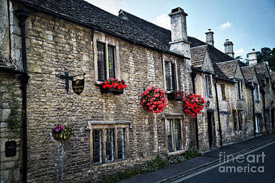 Photograph - The Cotswolds - Castle Combe by Bruce Block