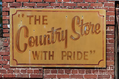 Photograph - The Country Store With Pride by Dale Powell