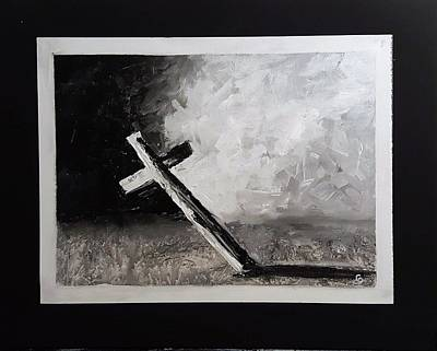 Painting - The Cross          30.19 by Cheryl Nancy Ann Gordon