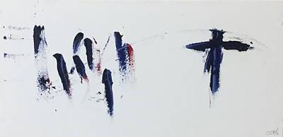 The Cross Alone Art Print by Tom Atkins