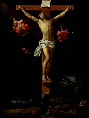 Painting - The Crucifixion  by Charles le Brun