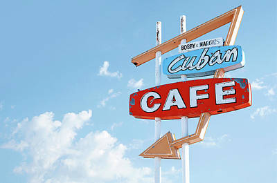 The Cuban Cafe - Cuba, New Mexico Original