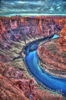 Photograph - The Curve Horseshoe Bend Colorado River Art by Reid Callaway