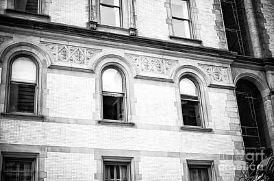 Photograph - The Dakota Windows New York City by John Rizzuto