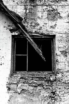 Photograph - The Darkness Of Decay - Northern State Hospital by Brett Nelson