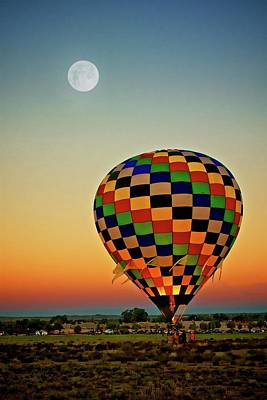 Photograph - The Dawn Of Light, 2017 Albuquerque International Balloon Festival by Flying Z Photography by Zayne Diamond