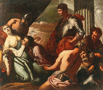 Painting - The Death Of Agrippina by Antonio Zanchi