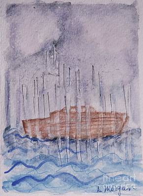 Painting - The Deluge by Laurie Morgan