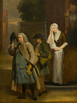 Painting - The Discovered Falsehood - The Feigned Sadness Of Geertruy by Cornelis Troost