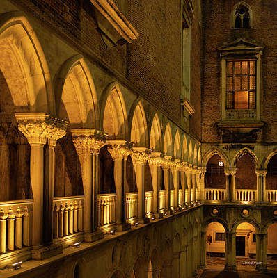Photograph - The Doge's Palace -- Venice by Tim Bryan