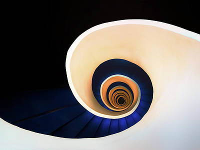 Photograph - The Downward Spiral by Mikel Martinez de Osaba
