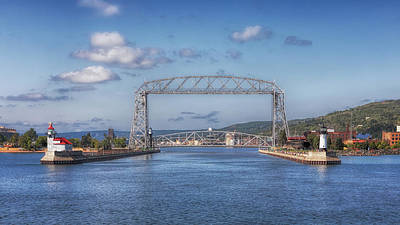 Photograph - The Duluth Ship Canal by Susan Rissi Tregoning