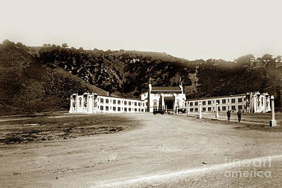 Photograph - The Durant/lebec Hotel Was Built In 1921 by California Views Mr Pat Hathaway Archives