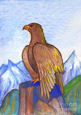 Painting - The Eagle by Dobrotsvet Art