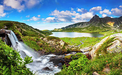Mountain Royalty-Free and Rights-Managed Images - The Eden by Evgeni Dinev