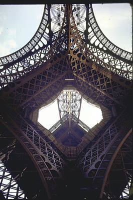 Photograph - The Eiffel Tower Built 1888-1889 By Gust by Alfred Eisenstaedt