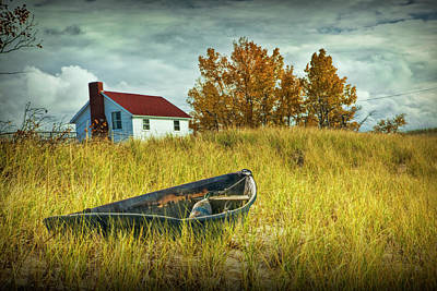 Photograph - The End Of Summer by Randall Nyhof
