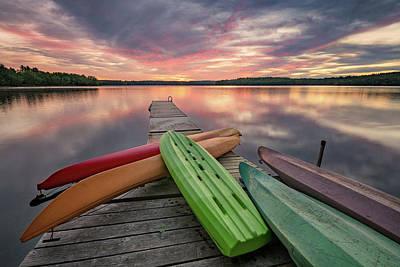 Photograph - The End Of Summer Sunrise by Darylann Leonard Photography