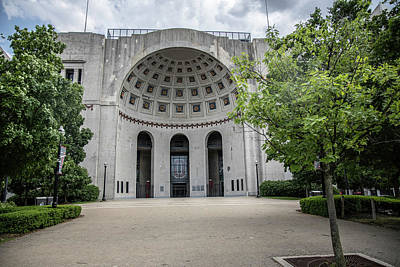 Photograph - The Entrance To Ohio Stadioum  by John McGraw