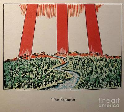 Photograph - The Equator by Flavia Westerwelle