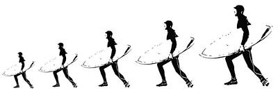 Photograph - The Evolution Of The Surfer by John McGraw