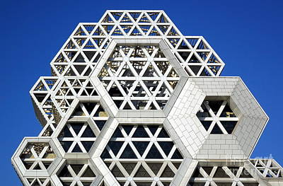 Photograph - The Facade Of The New Pop Music Center In Taiwan by Yali Shi