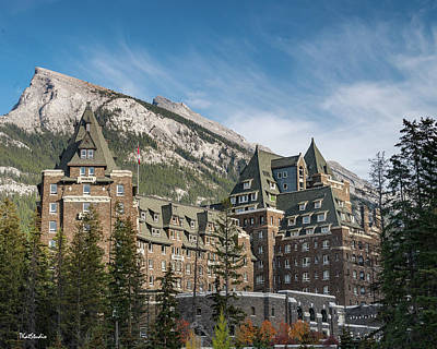 Photograph - The Fairmont Banff Springs Hotel by Tim Kathka