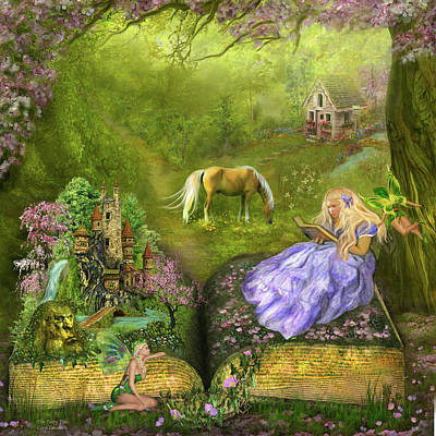 Mixed Media - The Fairy Tale by Carol Cavalaris