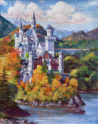 Fantasy Royalty-Free and Rights-Managed Images - The Fantasy Castle by David Lloyd Glover