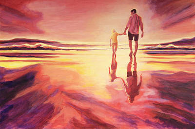 Painting - The Father by Claudia Klann