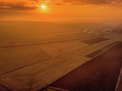 Photograph - The Fields by Okan YILMAZ