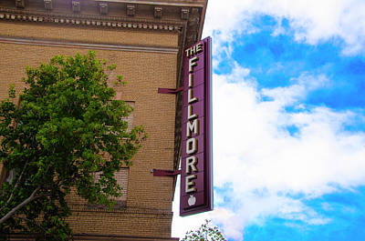 Photograph - The Fillmore West - San Francisco by Bill Cannon