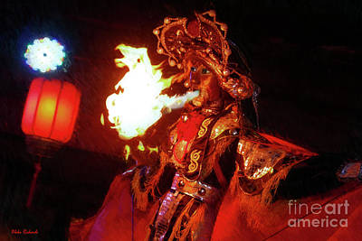 Photograph - The Fire Eater by Blake Richards